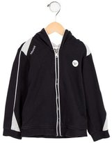 Armani Junior Boys' Hooded Zip-Up Sweatshirt