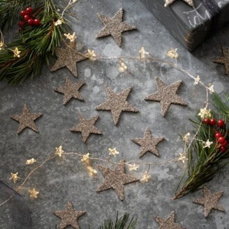 The White Company Scatter Stars Set of 20, Silver, One Size