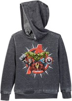 Mad Engine Bursting Avengers Pullover Hoodie Sweater (Little Boys)