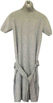 Malo Anthracite Cashmere Dress for Women