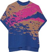 Vionnet Textured jacquard-knit sweater