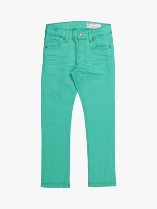 Polarn O. Pyret Children's Denim Jeans, Green