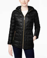 MICHAEL Michael Kors Size Hooded Packable Down Puffer Coat, Only at Macy's