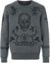 Alexander McQueen coat of arms sweatshirt