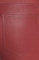 Current/Elliott Leather Skinny Ankle Pants