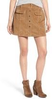 Jolt Women's A-Line Corduroy Skirt