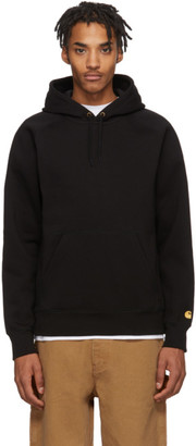 Carhartt Work In Progress Black Chase Hoodie