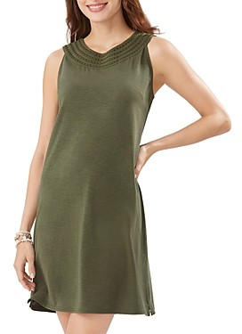 Tommy Bahama Pearl Embroidered Shift Dress