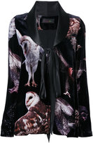 Romance Was Born 'Bird of Prey' velvet jacket - women - Silk/Viscose - 8