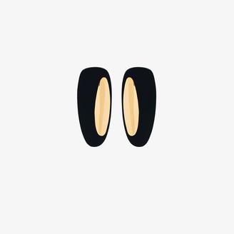Monica Sordo gold-plated Peggy asymmetric earrings