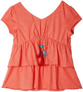 JCPenney BY AND BY GIRL by&by Girl Cap-Sleeve Necklace Top - Girls 7-16