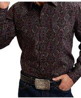 Stetson Western Shirt Mens Paisley L/S 2XL 11-001-0425-0778 WI