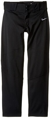 Nike Kids Vapor Pro Pants (Little Kids/Big Kids) (Black/White) Boy's Casual Pants