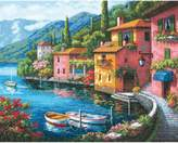 Dimensions Gold Counted Cross Stitch Kit - Lakeside Village