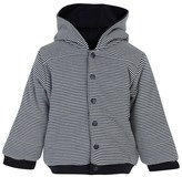 Petit Bateau Striped Padded Jacket