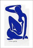 Matisse 1art1 Posters: Henri Poster Art Print - Nu Bleu I, 1952 (39 x 28 inches)