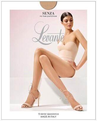 Levante Senza No Toes Pantyhose Natural