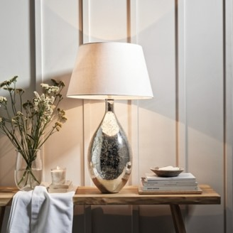 The White Company Mercury Large Table Lamp, Silver, One Size