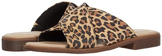 Clarks Declan Ivy (Tan Leopard Suede) Women's Shoes