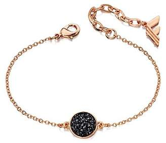 Fiorelli Fashion Black Druzy Bracelet
