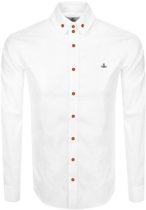 Vivienne Westwood Long Sleeved Shirt White