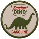 Poster Revolution Sinclair Dino Gasoline Round Retro Vintage Tin Sign - 12x12