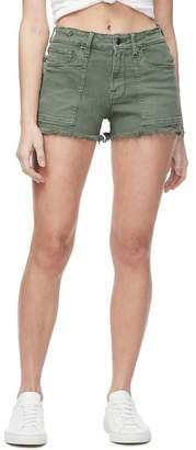 Good American High Waist Cutoff Shorts (Regular & Plus Size)
