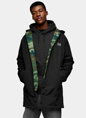 Coach TopmanTopman LEVI'S Black Hooded Jacket