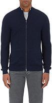 Fioroni Men's Cotton-Cashmere Zip-Front Cardigan
