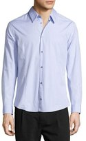 CNC Costume National Button-Front Solid Dress Shirt, Lavender