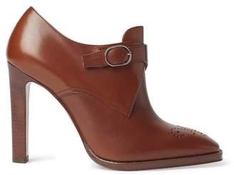 Ralph Lauren Lalisa Calfskin Heeled Shoe