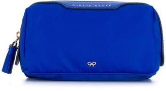 Anya Hindmarch Logo Zipped Cosmetic Bag