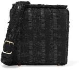 Simone Rocha Tweed Shoulder Bag - Black