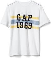 Gap Logo chest stripe tee