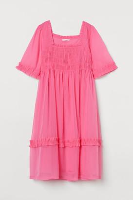 H&M MAMA Organza Dress - Pink