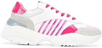DSQUARED2 Chunky Sole Striped Sneakers