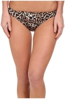 Christin Michaels Nesoi Leopard Bikini Bottoms