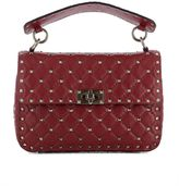 Valentino Red Leather Handle Bag