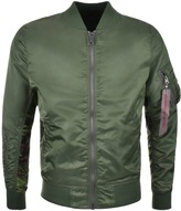 Alpha Industries MA 1 Reversible Jacket Green