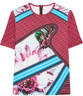 adidas + Mary Katrantzou Turkoplus neoprene T-shirt