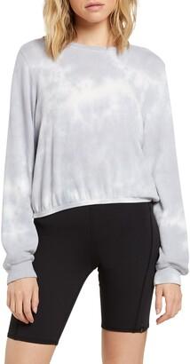 Volcom Lil Crew Tie Dye Fleece Sweatshirt