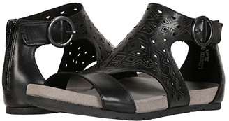 Earth Lebanon (Black Soft Calf) Women's Sandals