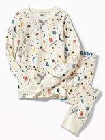 Old Navy Animal-Graphic Sleep Set for Girls