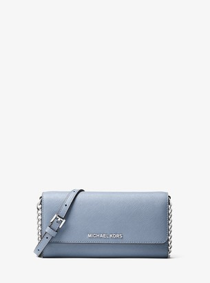 MICHAEL Michael Kors Jet Set Travel Saffiano Leather Chain Wallet