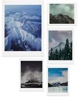 DENY Designs Mountain Five-Piece Gallery Wall Art Print Set