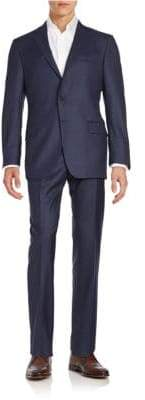 Hickey Freeman Classic Fit Milburn Wool Suit