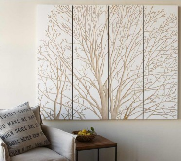 Viva Terra Spring Tree Wall Art