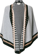 Antonia Zander triangle patterned scarf