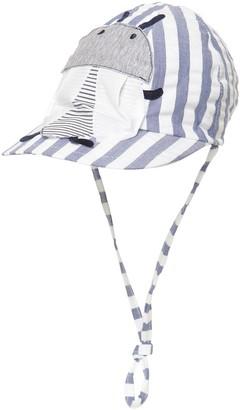 Il Gufo Seersucker Hat