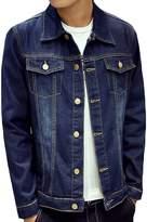 CFD Mens Slim Autumn Wear Denim Jacket M
